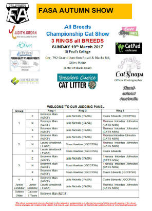 Royal Easter Show Dog Schedule